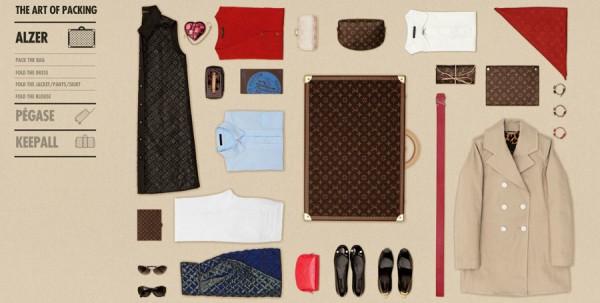 Sztuka pakowania według Louis Vuitton