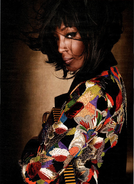 """Luxe Be A Lady"" – Naomi Campbell"
