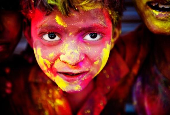 Kolorowe Święto Holi