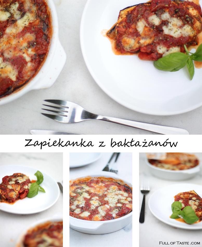 Zapiekanka z Bakłażanów