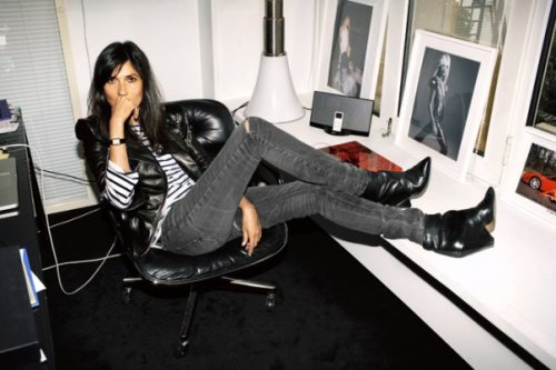 "Emmanuelle Alt chief and editor of ""Vogue Paris""."