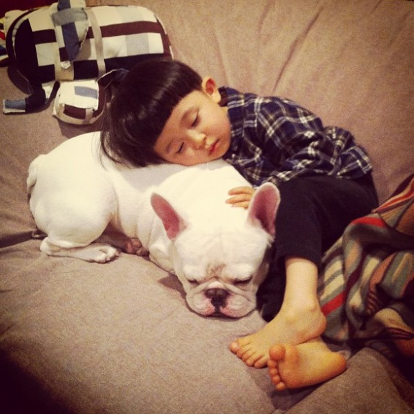 Aya-Sakai-japanese-boy-and-his-bulldog-1-600x600