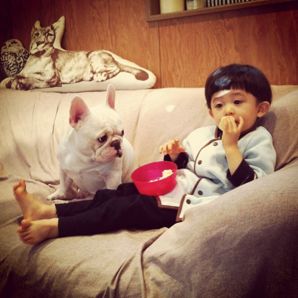 Aya-Sakai-japanese-boy-and-his-bulldog-5-600x600