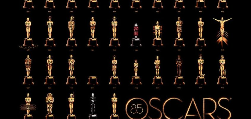 85th Academy Awards Poster by Olly Moss