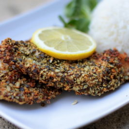 Pumpkin Seed-Crusted Chicken