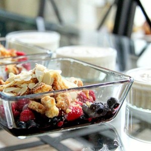 Delicious and easy desert New recipe for fruit crumble athellip