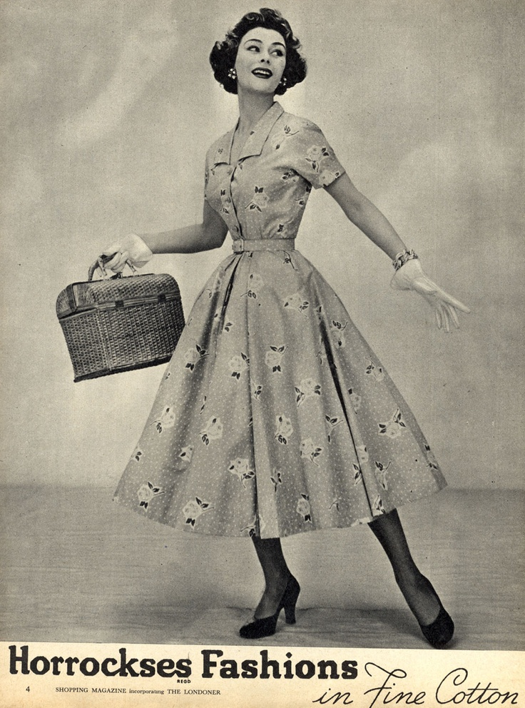 Fashion History Fashion Of The 1950 39 S