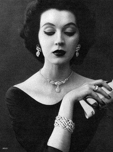 Dovima - Kramer Jewelry 1952