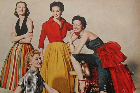 Fashion history – Fashion Of The 1950's