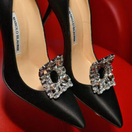 New Manolo Blahnik collection at London Fashion Week