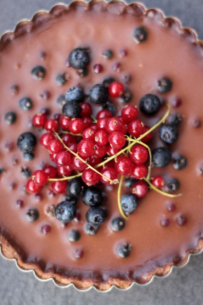 chocolate tart 006