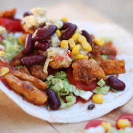 chicken tortilla wraps