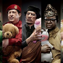 World dangerous dictators cuddling stuffed toys ?