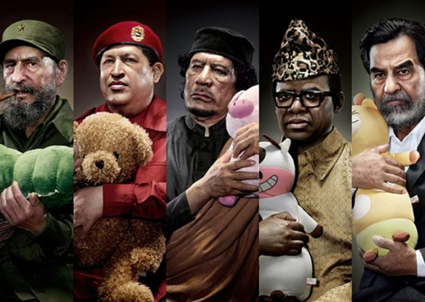 World dangerous dictators cuddling stuffed toys ?