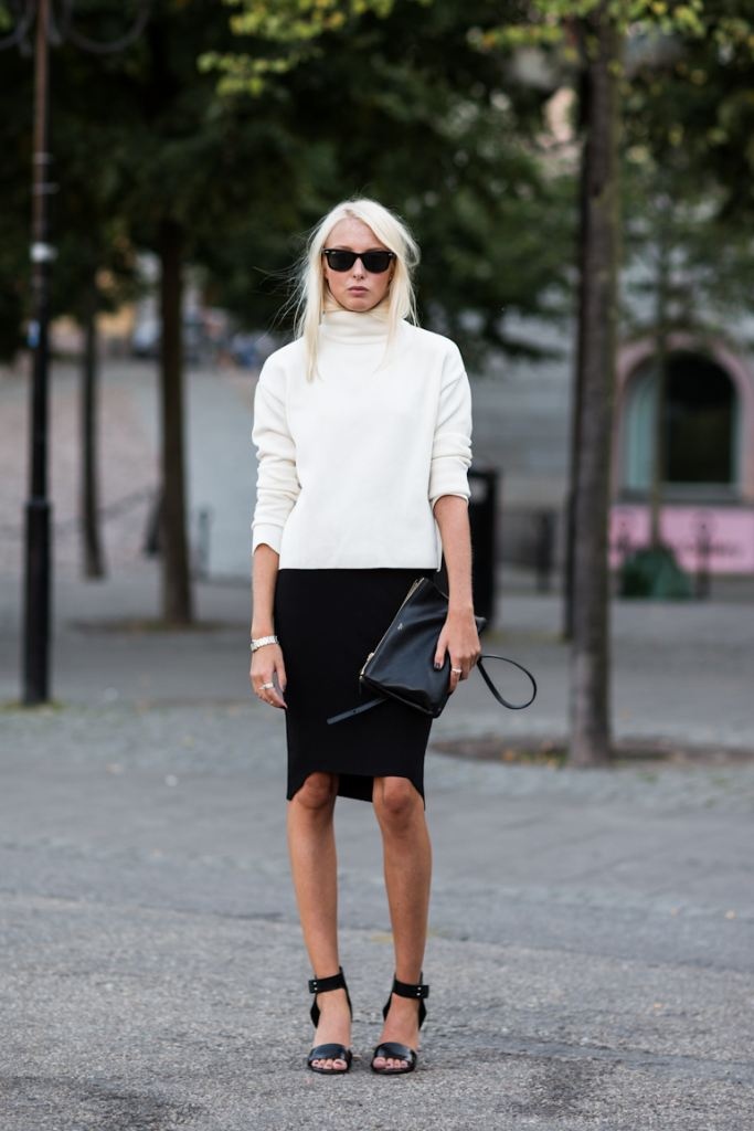 Stockholm Fashionweek Spring/Summer 2014, Ellen wearing Whyred shoes, Zara top