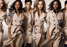 Burberry campaign for fall / winter 2014/2015