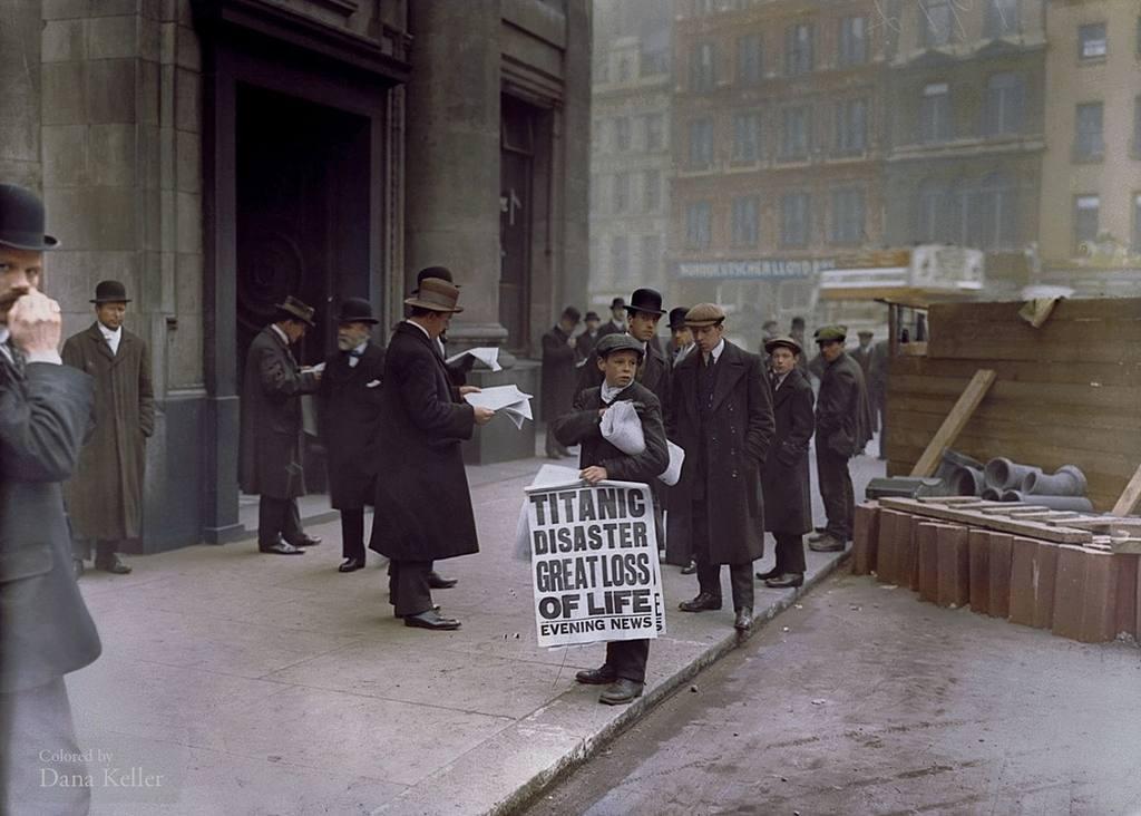 London Newsboy Advertising  Loss