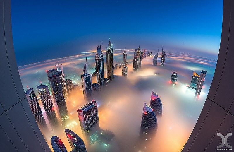 Cityscape by Daniel Cheong