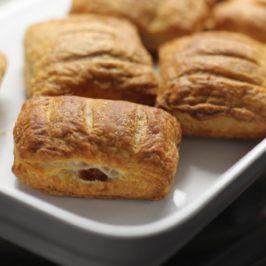 sauerkraut in puff pastry