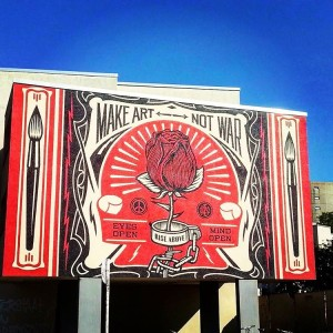 New post at fulloftastecom Street art by obeygiant streetart artisthellip