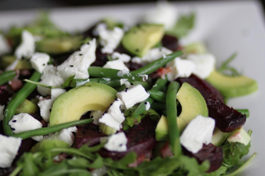 Roasted beets salad 01