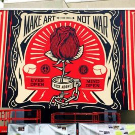 street art by Shepard Fairey