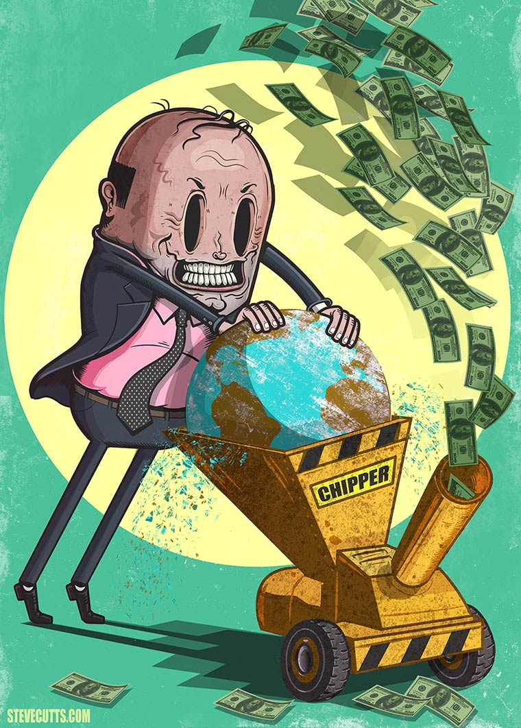 Steve Cutts Satirical Illustrations 03