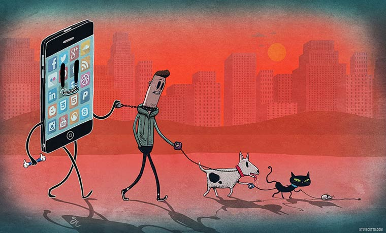 Steve Cutts Satirical Illustrations 05
