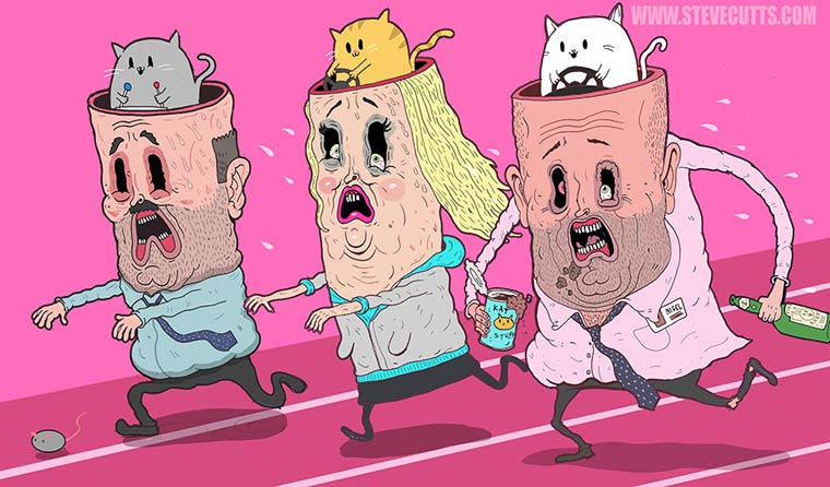 Steve Cutts Satirical Illustrations 14