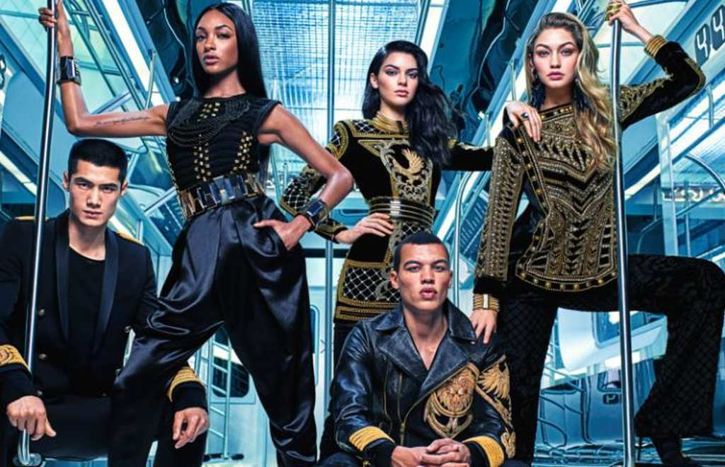 The Balmain x H&M campaign 01