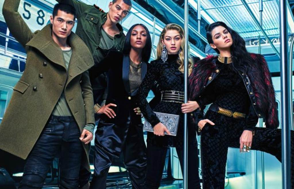 The Balmain x H&M campaign 02