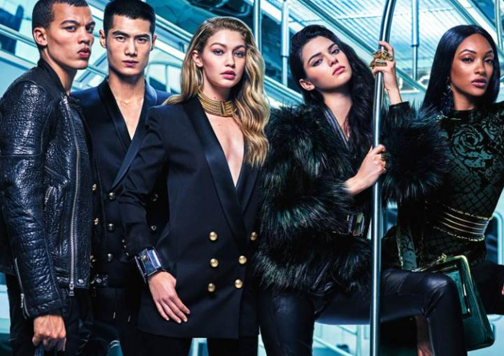 The Balmain x H&M campaign 03