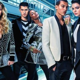 Balmain for H&M – ad Campaign