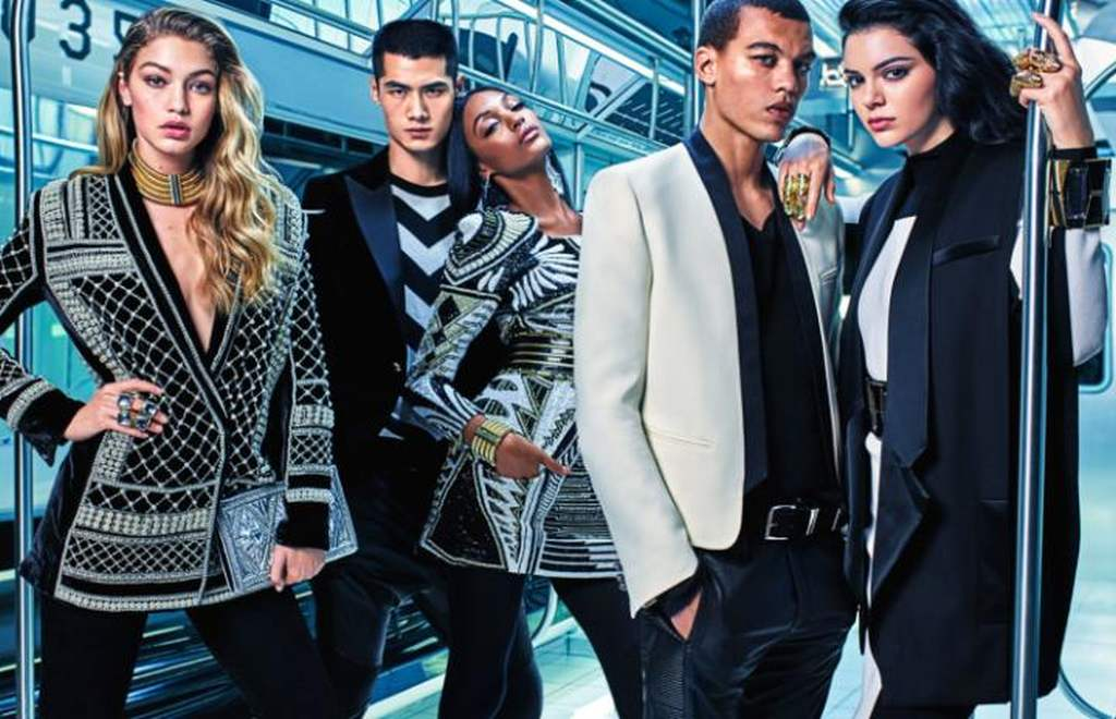 The Balmain x H&M campaign 04