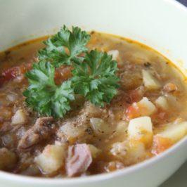 Tuna soup – very easy