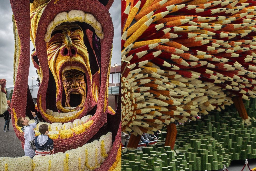 flower parade Netherlands 12