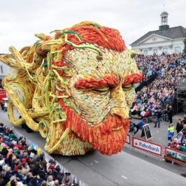 Flower Parade in Netherlands