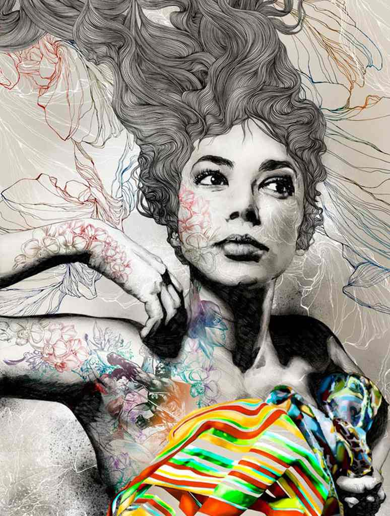 Stunning Illustrations by Gabriel Moreno