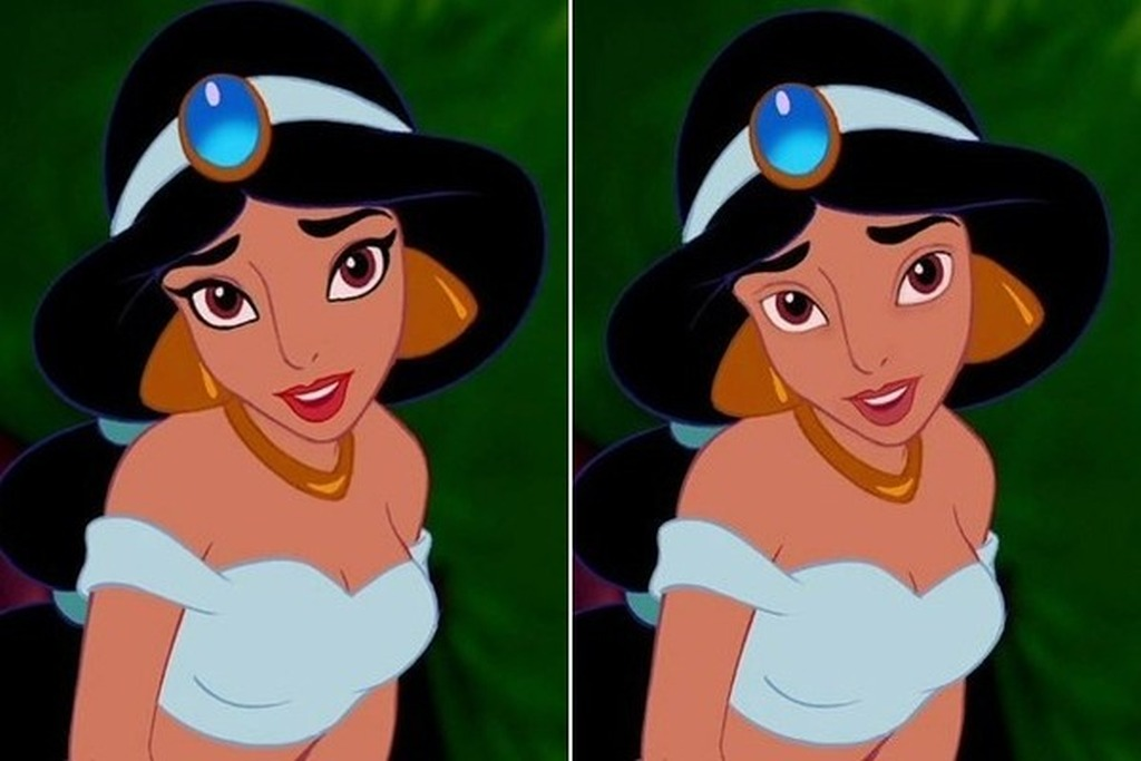 The Disney Princesses without makeup by Loryn Brantz 07