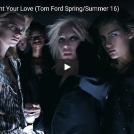 Tom Ford 2016 Spring/Summer Video with Lady Gaga