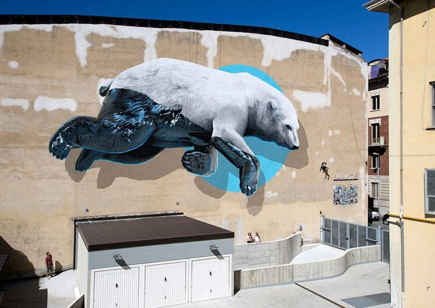Large-scale Murals by NEVERCREW