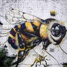 Save the Bees Mural Project by Louis Masai Michel