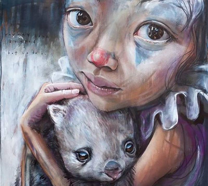 Stunning Murals by Herakut