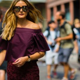 The most exciting part of  fashion week, The Street Style !!!!