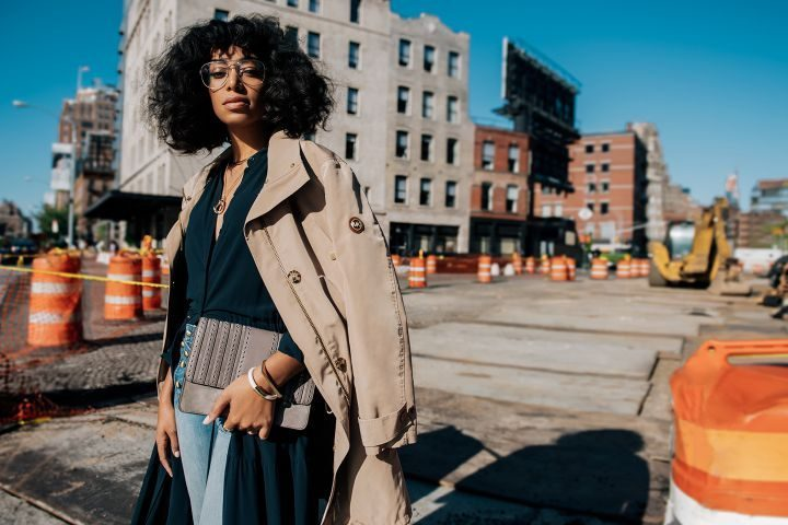 Michael Kors street style campaign, The Walk