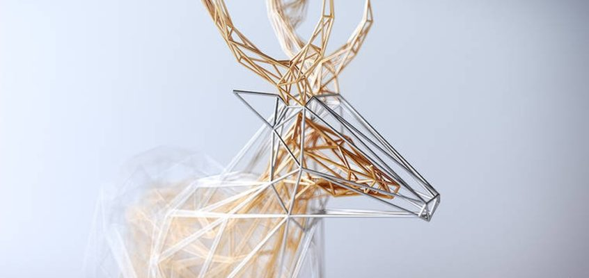 The Wires – geometric animals by Mat Szulik
