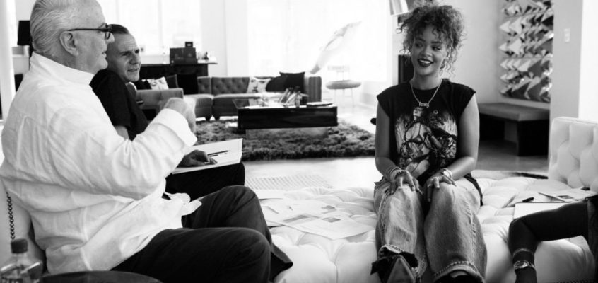 Rihanna and Manolo Blahnik Partner Again