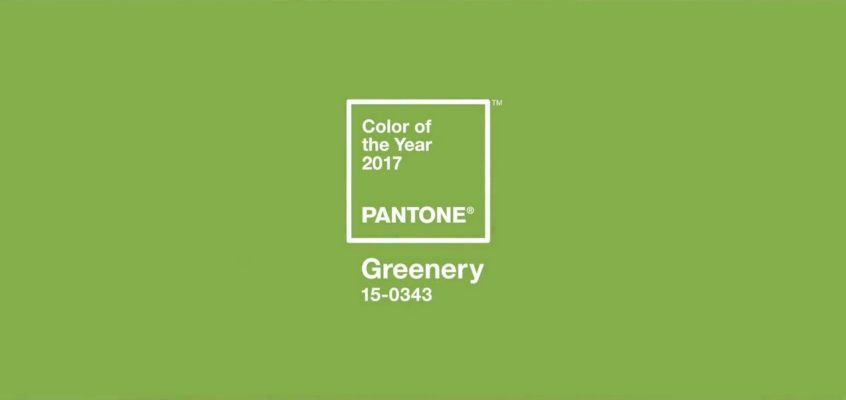 May I have your attention please?!! Pantone's 2017 Colour of the Year is …