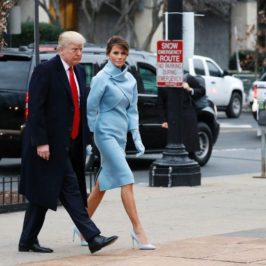 Melania Trump And Her Inauguration Day Beauty