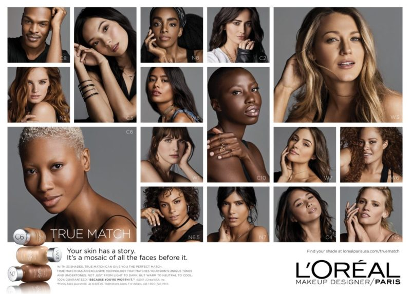 All Shades Of Beauty – New L'Oréal Campaign